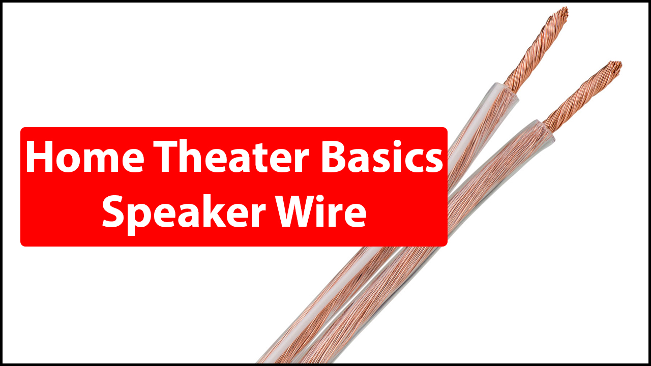 Home Theater Speaker Wire : Speaker wire what size how long much k home